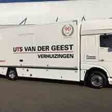 Nieuwe superverhuiswagen voor UTS Van der Geest